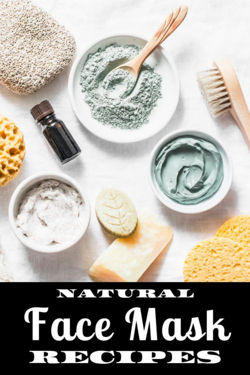 Facial Mask Recipes for Your Natural Skin Care Routine. Learn how to make natural facial mask recipes for every skin type as part of your everyday natural skin care routine. Four easy face mask recipes to try. Holistic skin healthy facial mask recipes for dry skin, normal skin, dehydrated skin and acne prone skin. Face masks are a simple beauty hack for healthy looking, clear beautiful skin. Learn how to make homemade face masks for your beauty routine now!