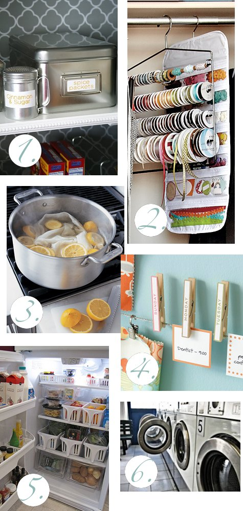Household tips and lifehacks for organizing and living. Don't just work hard, work efficiently and effectively! Here's a collection of household tips for making doing what you need to do even easier.