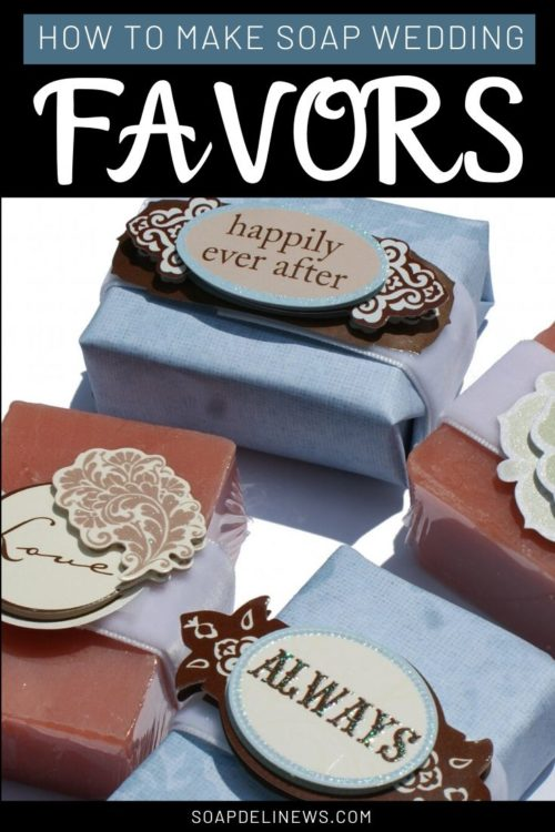 Handmade Soap Wedding Favors: How to Make Soap for Wedding Favors. Learn how to make easy, handmade soap wedding favors two ways. You can either use pre-made handmade soap for wedding favors or make soap for wedding favors. Then simply decorate your handmade soap wedding favors using ribbon, decorative papers and stickers. It's so easy! Just follow the step-by-step photos and directions for the perfect handmade soap wedding favors for your special day!