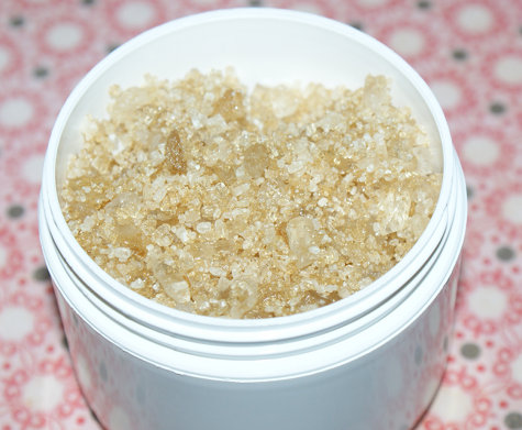This natural vanilla and patchouli bath salts recipe is easy to make but a luxury to soak in! Create your own using natural salts and oils.