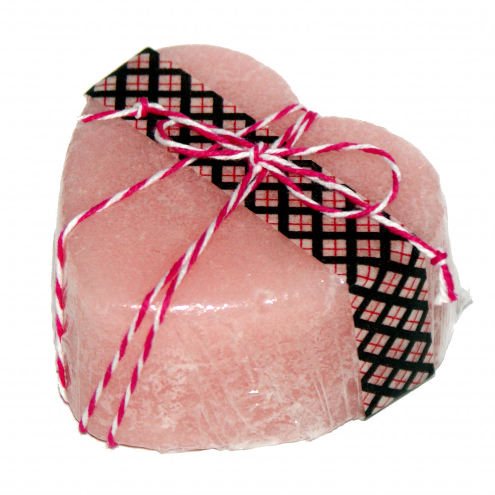 Homemade Valentine's Day Gift Idea For Sugar Scrub Hearts