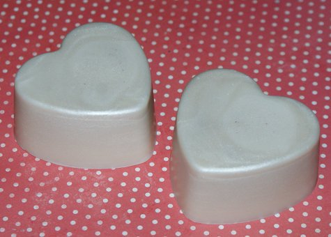 This heart shaped homemade solid lotion bar recipe makes a thoughtful DIY Valentine's Day gift idea!