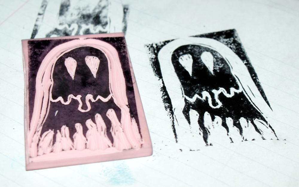 Hand Carved Stamp Making Tutorial