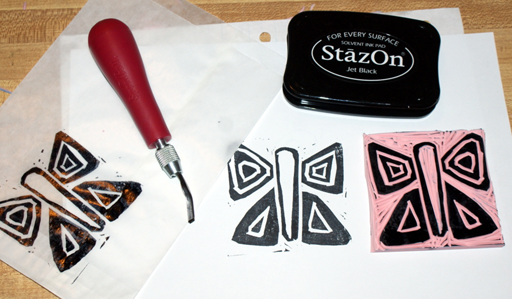 DIY Hand Carved Stamps - How to Make Homemade Stamps
