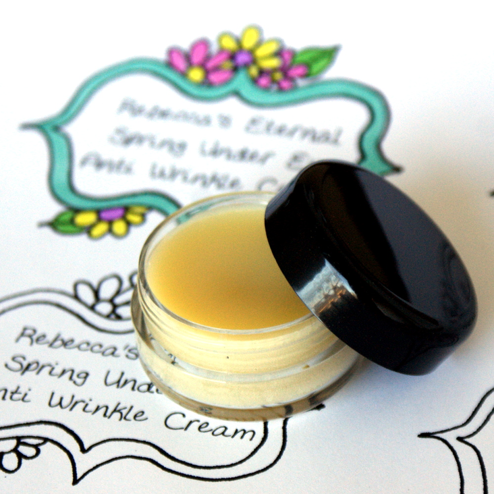 Natural Handmade Anti-Wrinkle Under Eye Cream