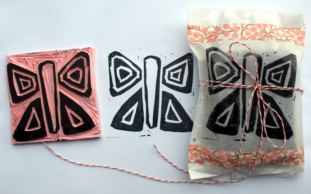 How to Make Handmade Stamps - DIY Stamp Tutorial