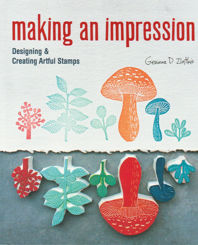 How to Make Stamps - Stamp Making Book - Making An Impression