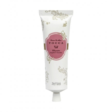 Cleopatra TOCCA Crema da Mano Luxe Hand Cream - Natural Beauty and Skin Care Hand Cream with a Fabulous Light Grapefruit and Cucumber Fragrance - Perfect for a Mother's Day Gift