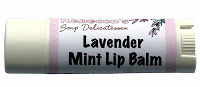 How to Make Lip Balm- Vegan Lavender Mint Homemade Lip Balm Recipe