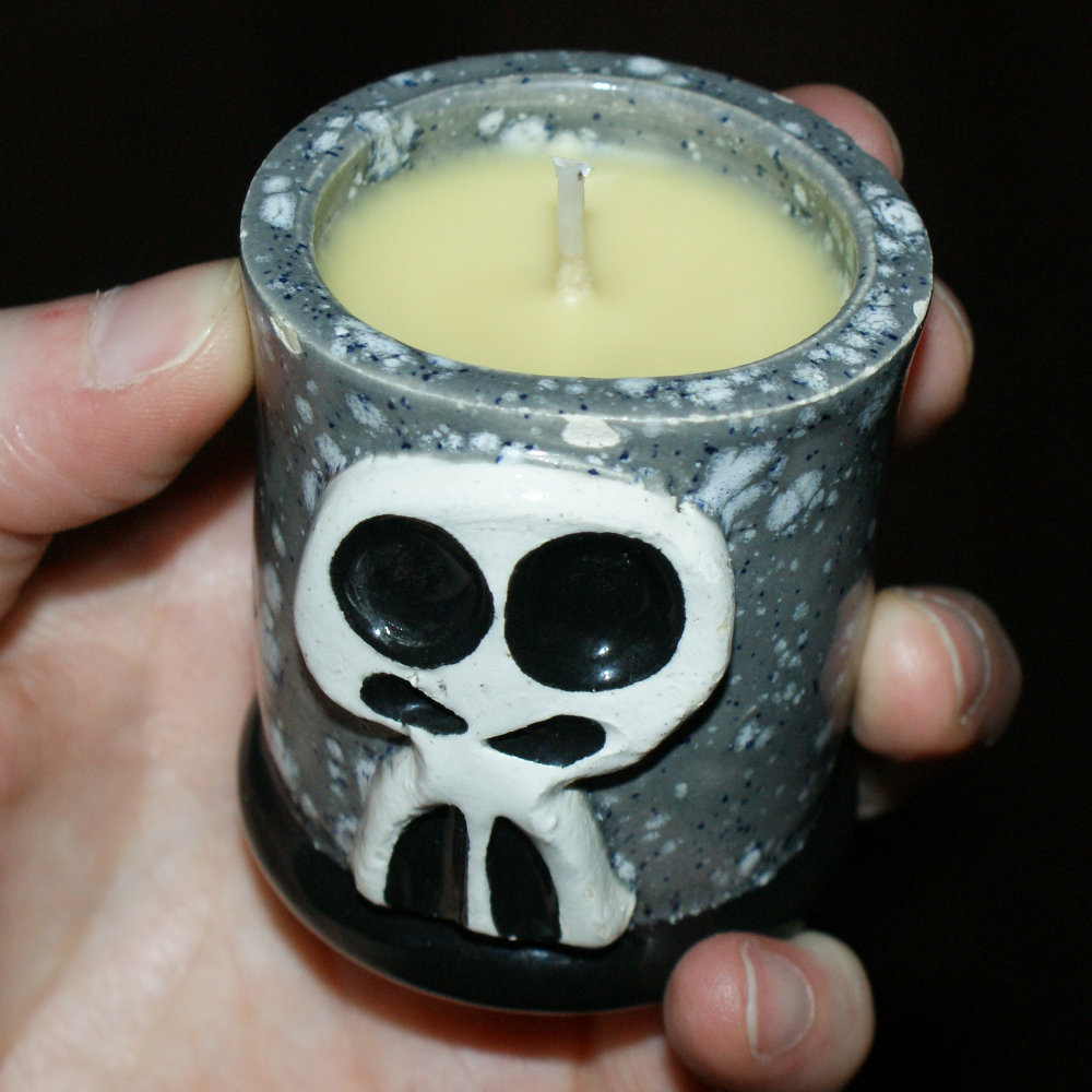 Handmade Skully Shot Glass DIY - Great Gift for Dad