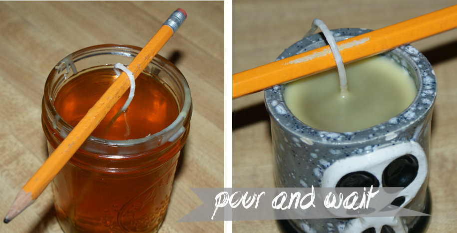 How to Make Hand Poured Beeswax Candles DIY