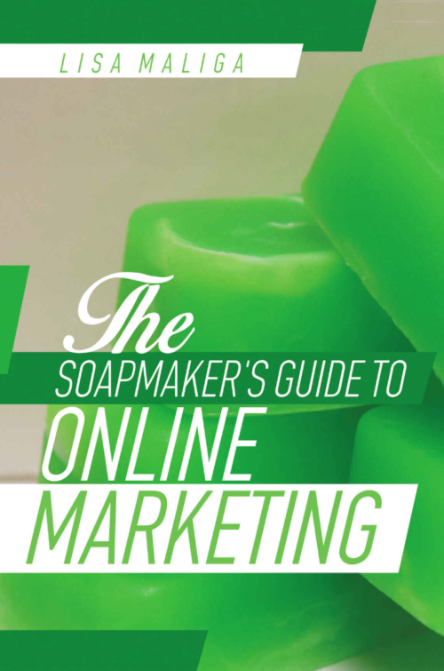Want to sell you handmade soaps? Then be sure to check out the Soapmaker's Guide to Online Marketing. This beginner soapmaking book details how to get started making soap as a business and not just a hobby. Easy to read and understand, this soap marketing book is perfect for the average soaper just getting their toes wet and wanting to sell their handmade artisan soaps.