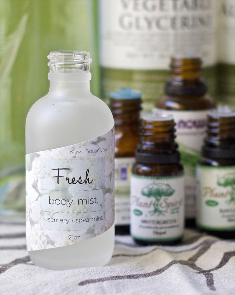 How to Make a Natural Body Spray with Pure Essential Oils - DIY 2oz. Body Spray Recipe