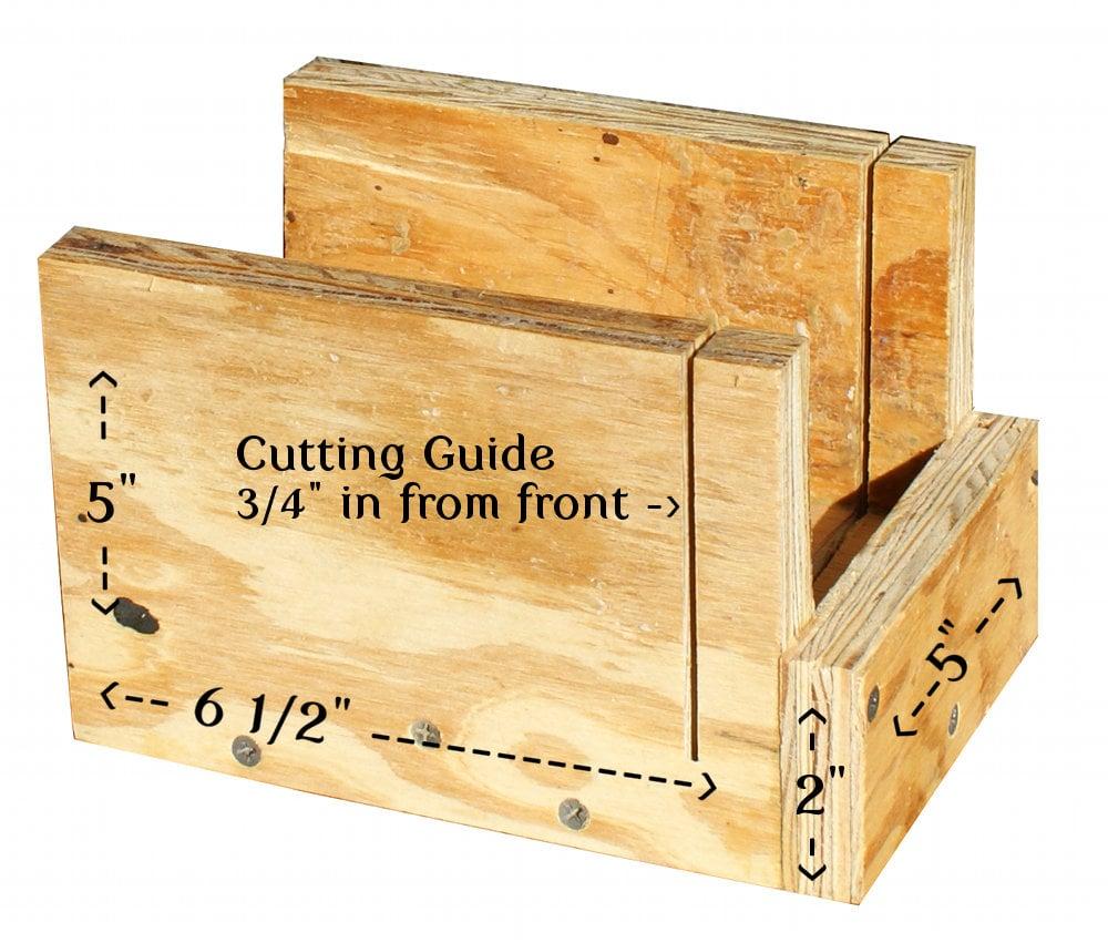 How to Make a Handmade Soap Cutter DIY