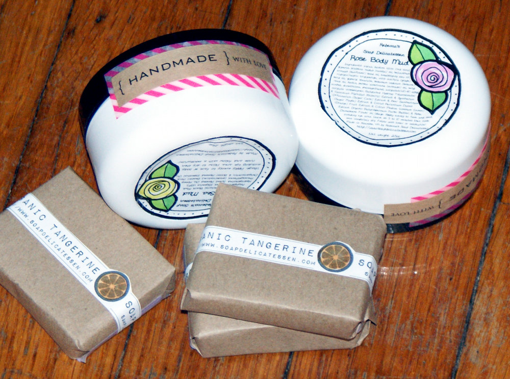 Natural Bath and Beauty Product Giveaway from Rebecca's Soap Delicatessen