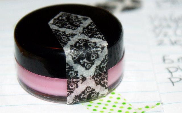 DIY Homemade Lip Balm Recipe - Handmade Birthday Cake Sheer Shimmer Lip Balm