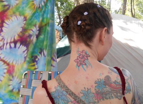 Rebecca with braids