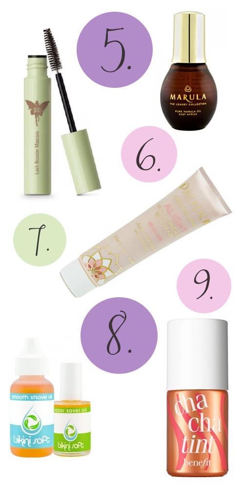 Natural Beauty and Skin Care Products Sampled Via The Top Three Beauty Sample Programs