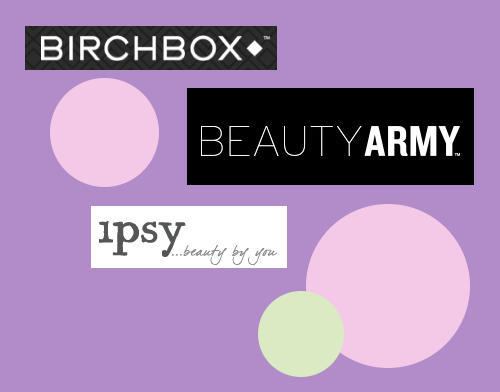 Reviews of Top Beauty Sampling Programs - Birchbox, Beauty Army and ipsy