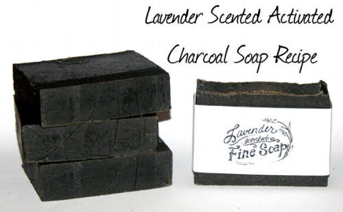 This natural activated charcoal facial soap recipe for acne prone skin is crafted with clay, essential oils and activated charcoal to detox skin, calm inflammation and aid in acne prevention.