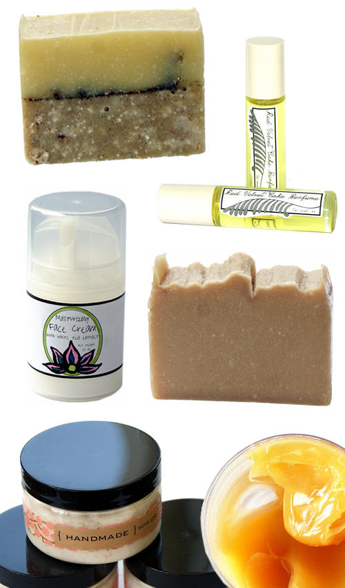 Pin It To Win It Handmade Bath and Body Product Giveaway - Enter to win six handmade beauty products valued at over $54!