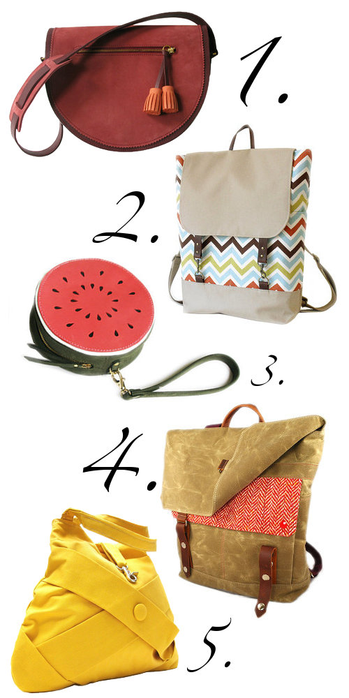 Stylish and Fun Handmade Handbags, and Backpacks and Purses for Women on Etsy