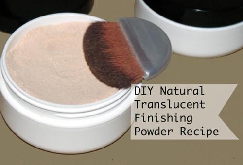 Makeup DIY - Natural Translucent Finishing Powder Recipe