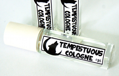 DIY Cologne for Men - Tempestuous Cologne Recipe - Easy Homemade Gift Idea for Men - Also Make Great DIY Wedding Favors for the Guys