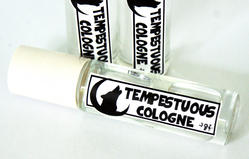 DIY Cologne for Men - Tempestuous Cologne Recipe - Easy Homemade Gift Idea for Men -