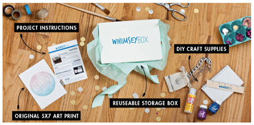 WhimseyBox Monthly Craft Kit Subscription