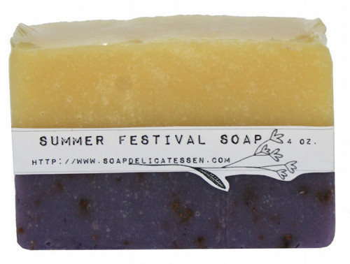 Ideas for Wrapping and Labeling Homemade Soaps - Cigar Band Soap Label