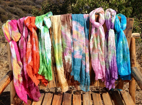 Handwoven Scarves from Smiles by JEM