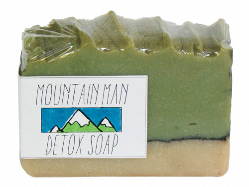 Printable Mountain Range Soap Label