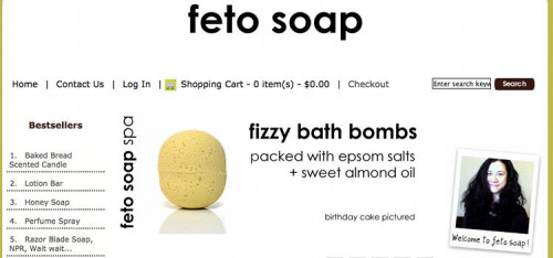 Feto Soap - Handmade soap made from scratch with the cold process and hot process methods, glycerin soap, perfumes, lip balms and lotion bars.