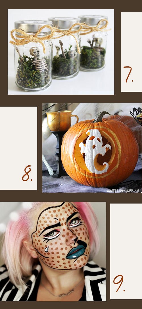 Handmade Halloween Projects for Parties, Costumes and Decorating