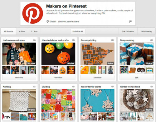 Makers on Pinterest - A Community Board for DIY-ers