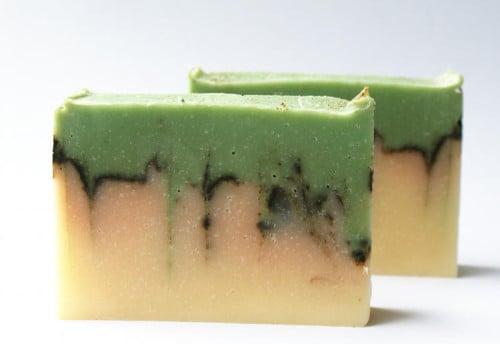 DIY Handmade Natural Lemon and Basil Cold Process Soap Recipe
