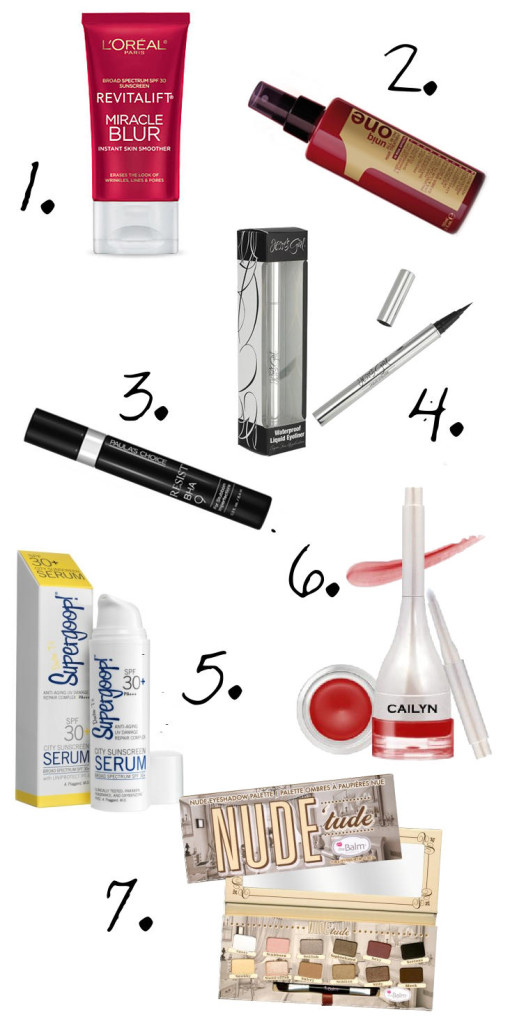 "Must Have ""5"" Star Beauty and Cosmetic Brands and Products"