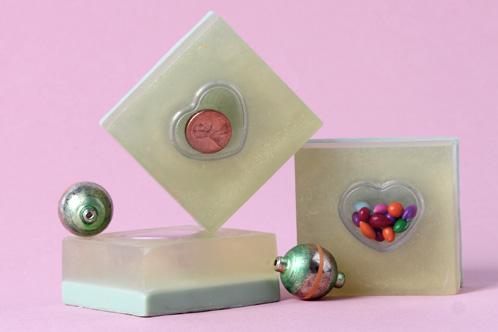 Homemade Christmas Stocking Stuffer Gift Idea for Kids - DIY Secret Money Embedded Melt and Pour Soap
