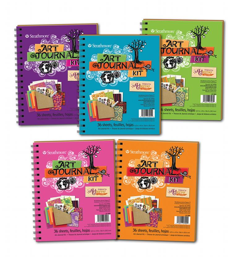DIY Art Journal Kits from Artterro