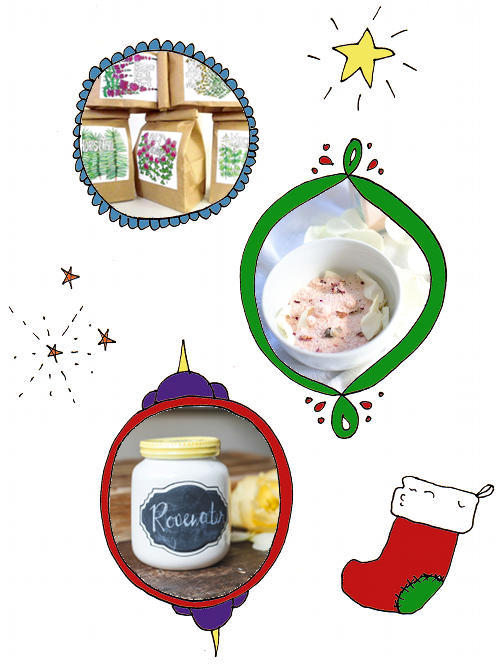 DIY Homemade Herbal Gift Ideas for the Holidays