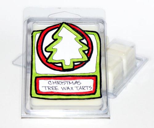 DIY Homemade Christmas Tree Scented Wax Tart Melts