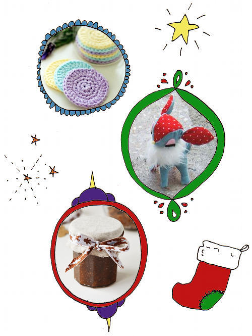 Homemade Christmas Gift Ideas and Stocking Stuffers for Bath, Beauty and Home