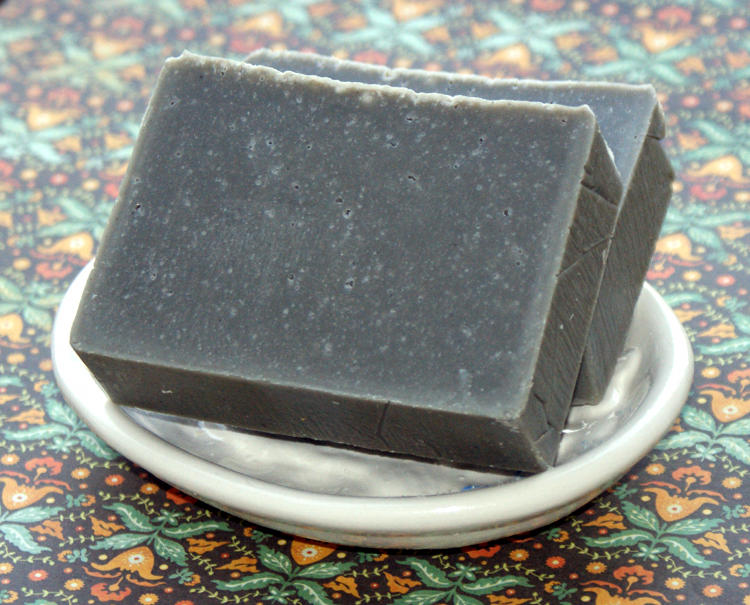 Dead Sea Mud Soap Recipe for Oily Skin and Acne Prone Skin. This cold process dead sea mud soap recipe makes a great facial soap for oily or acne prone skin. Natural sea clay removes impurities and toxins while hazelnut oil acts as an astringent.