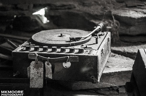 Record Player Photograph by MKMoore Photography