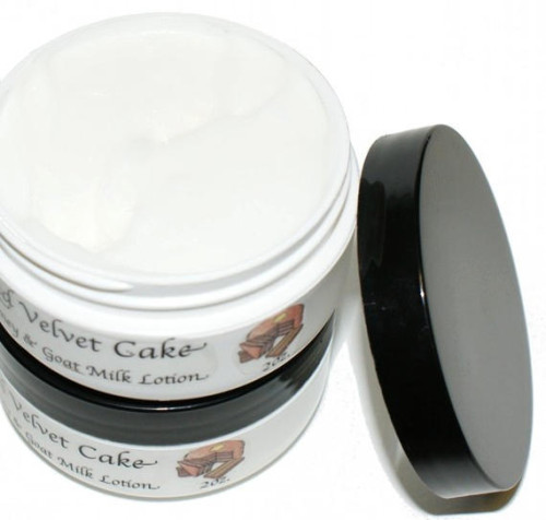 Homemade Christmas Gift Idea - Easy DIY Red Velvet Cake Goat Milk Lotion Recipe