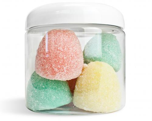 DIY Handmade Spiced Gum Drops Sugar Scrub Recipe - Fun Homemade Christmas Gift Idea via Wholesale Supplies Plus