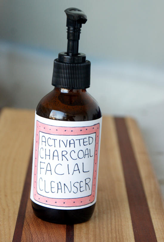 Vegan Beauty DIY - Natural Activated Charcoal Facial Cleanser Recipe for All Skin Types! Say goodbye to blemishes with this natural beauty recipe for creating your own homemade activated charcoal facial cleanser recipe! The organic liquid castile soap base gently cleans delicate facial skin while cocoa butter, shea butter and rosehip seed oil nourish and moisturize. Birch tar essential oil and activated charcoal help to balance skin and clear up acne. #vegan #beauty #diy #activatedcharcoal