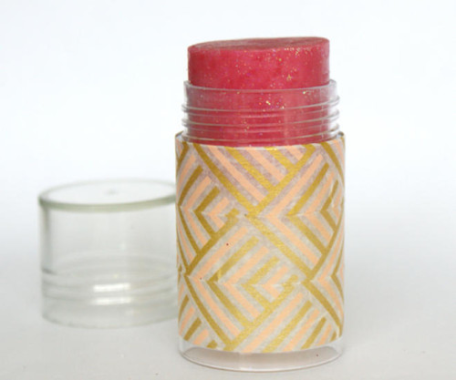 DIY Tinted Pink Champagne New Year's Gala Shimmer Stick