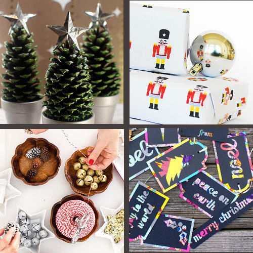 Handmade Holiday DIY Projects for Trimming the Tree, Gifting and Decorating